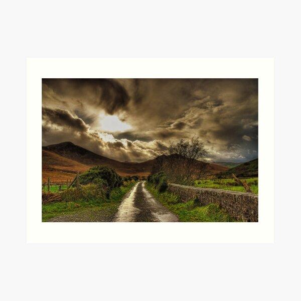 Heavens Path Art Print