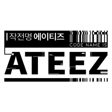 ATEEZ B by redkpopstore