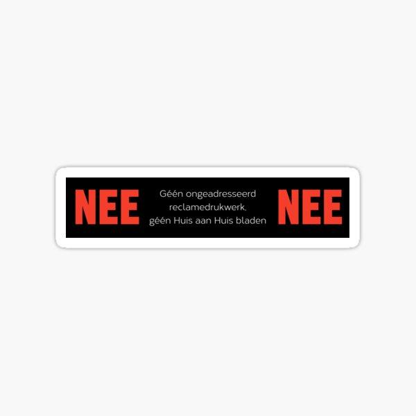 Nee Nee stickers Sticker