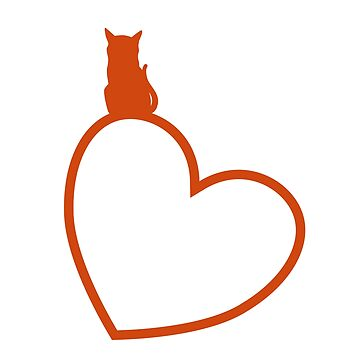 The cat of my heart by Mahkor