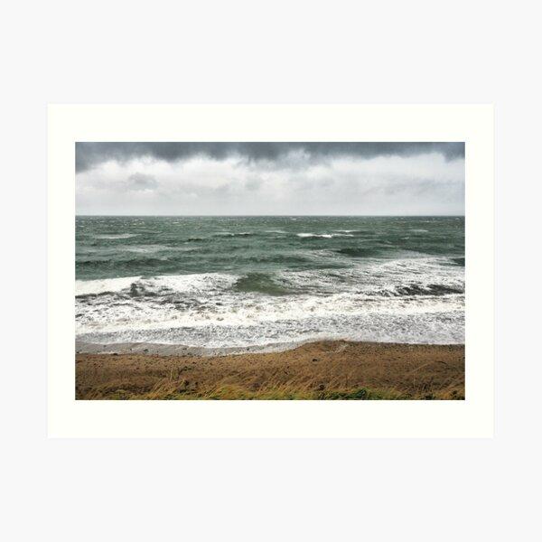 Land, Sea and Sky Art Print