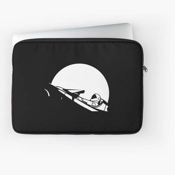 Starman In Space Tesla Roadster (Simplified) Laptop Sleeve