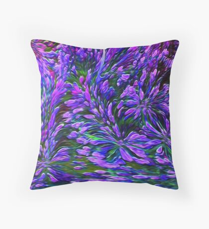 Dedicated to Breast Cancer Month and every month.. Throw Pillow