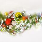 Abstracted Christmas - High Key Pirouette by Georgia Mizuleva