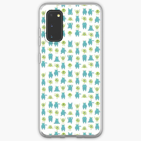 sully (sullivan) and mike (wazowski) monsters pattern Samsung Galaxy Soft Case