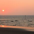 Reflected sunset over Minnis Bay by chihuahuashower