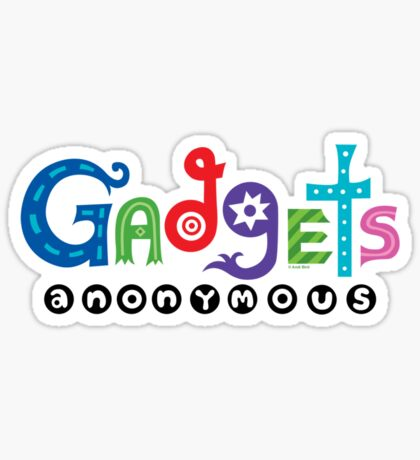 Gadgets Anonymous  Sticker
