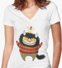 Friendship Women's Fitted V-Neck T-Shirt