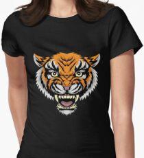 MANDY - Nicolas Cage Tiger Baseballshirt Tailliertes T-Shirt