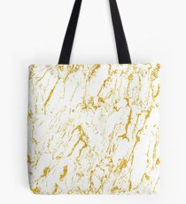 Gold finery pattern Tote Bag