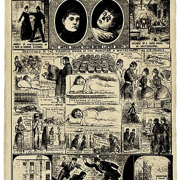 Illustrated Police News October 1888. by theheadshed