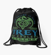 Legend T-shirt - Legend Shirt - Legend Tee - TREY An Endless Legend Drawstring Bag
