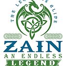 Legend T-shirt - Legend Shirt - Legend Tee - ZAIN An Endless Legend by wantneedlove