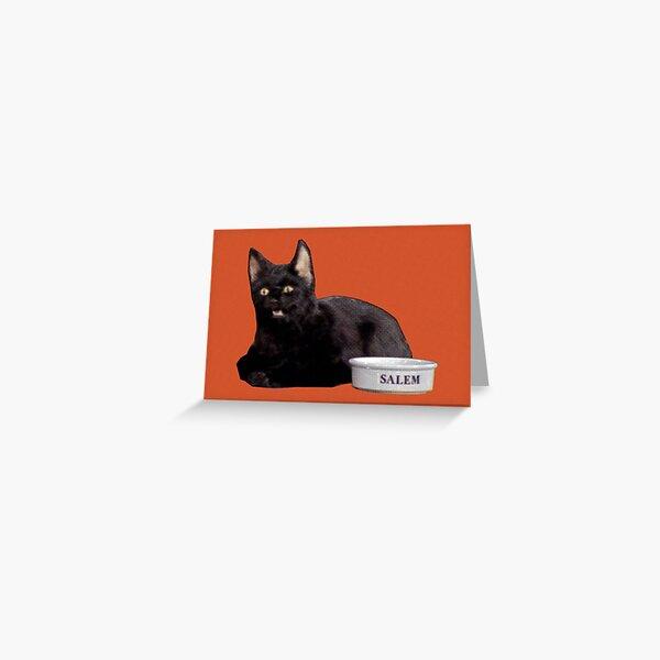 Salem | Orange Greeting Card