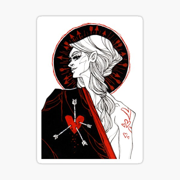 Jack of Hearts Sticker