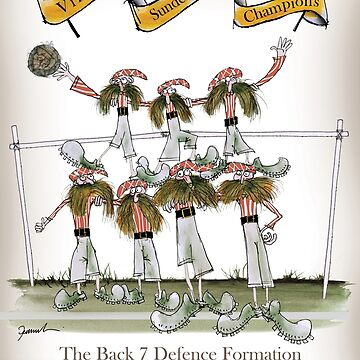 Sunderland Football Defenders by tonyfernandes1