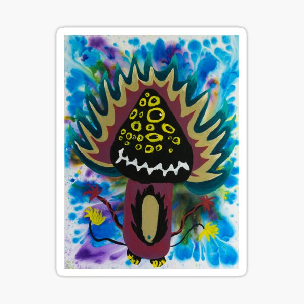 Seed Pine Monster by See Foon  Sticker