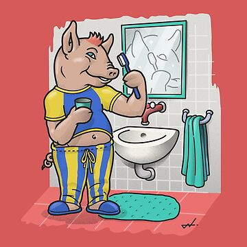Mr   the clean pig by cintrao
