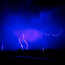 Lightening over Inverloch by Melinda Kerr