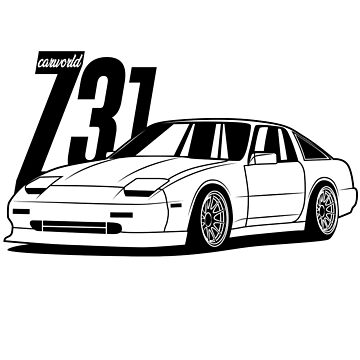 Nissan 300ZX Z31 Best Shirts Design by CarWorld