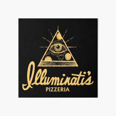 Illuminati's Pizzeria Art Board Print