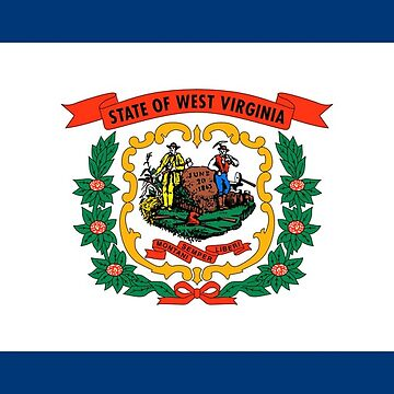 Flag of West Virginia by PZAndrews