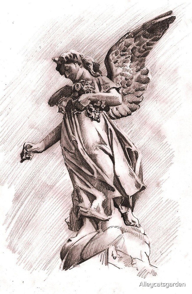 Angel 2 by Alleycatsgarden