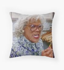 """""""No Wire Hangers"""" Throw Pillow"""