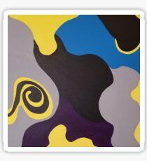 Swirl II Sticker
