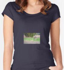 Kangaroos Women's Fitted Scoop T-Shirt