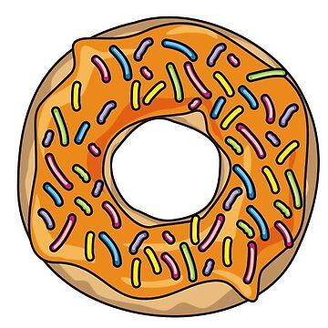 Orange Donut by NeonArcade87