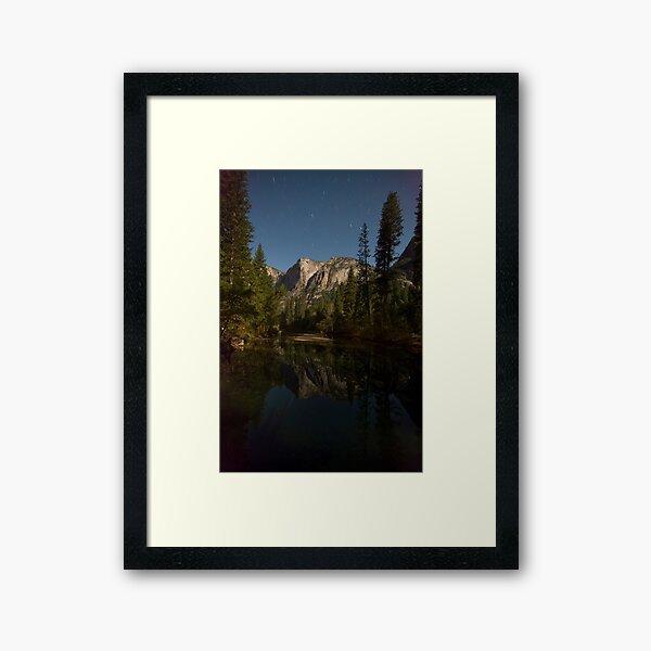 Yosemite Night Framed Art Print