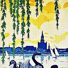 Konstanz am Bodensee Travel Advertisement  by edsimoneit
