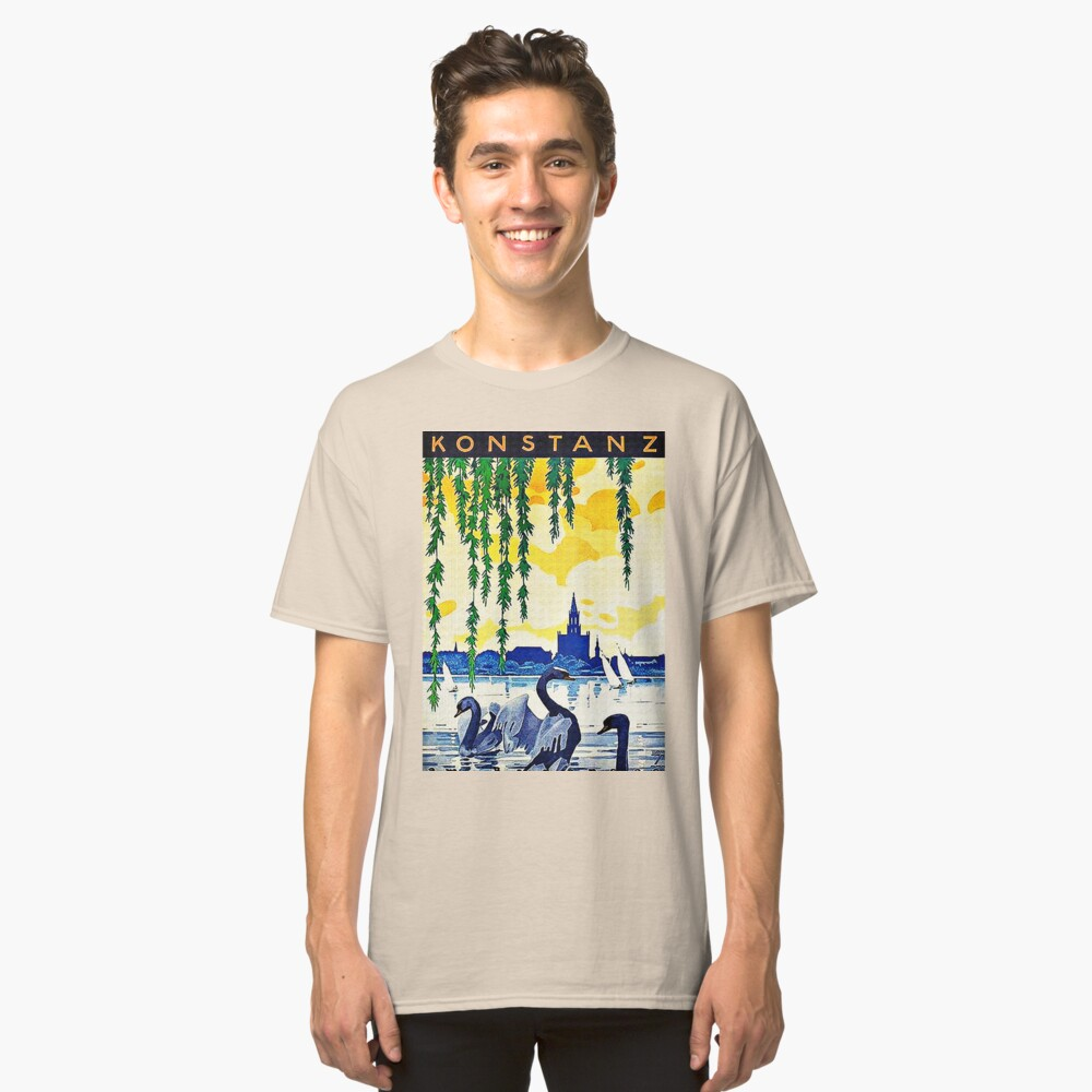 Konstanz am Bodensee Travel Advertisement  Classic T-Shirt