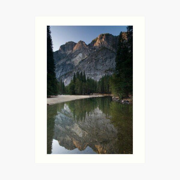 Morning Mountains Art Print