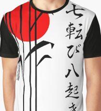 Japan - Herbst sieben Mal aufstehen Acht Grafik T-Shirt