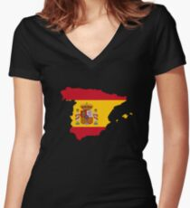 Espana Women's Fitted V-Neck T-Shirt