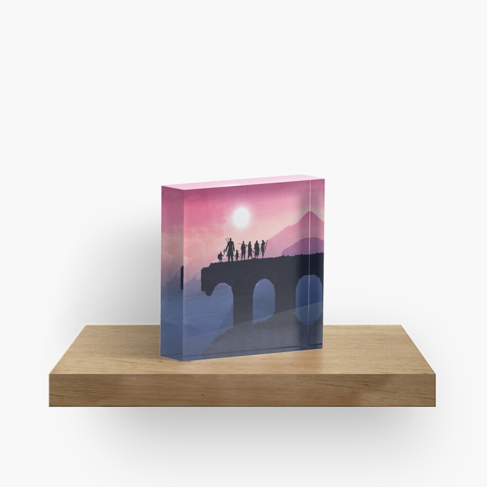 Vox Machina Horizon Acrylic Block