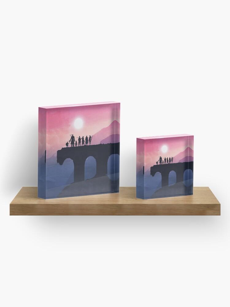 Alternate view of Vox Machina Horizon Acrylic Block
