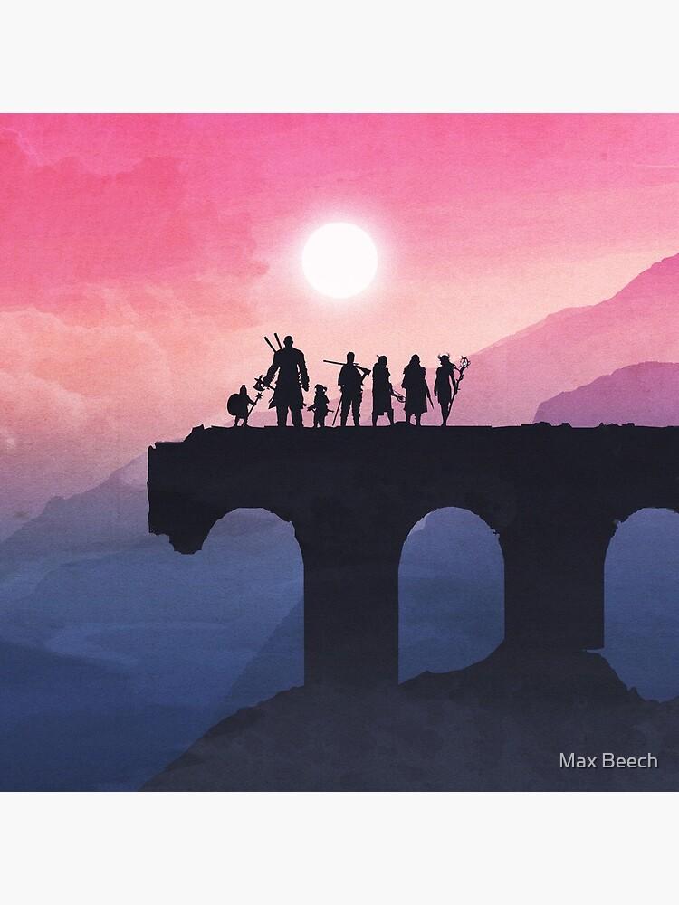 Vox Machina Horizon by maxwellthebeech