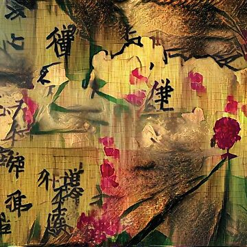Oriental Painting. Japanese style by rolffimages