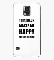 Triathlon Lover Fan Funny Gift Idea Hobby Case/Skin for Samsung Galaxy