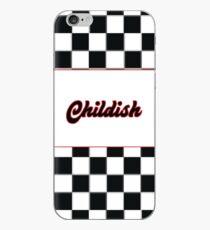 TGFbro Childish Hoodie Checkerboard  iPhone Case