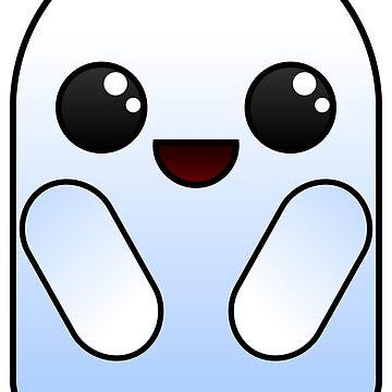 Kawaii Cute Ghost - Halloween by Stridden