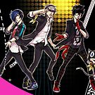 Dancing Protags by Ammosart