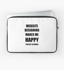 Website Designing Lover Fan Funny Gift Idea Hobby Laptop Sleeve