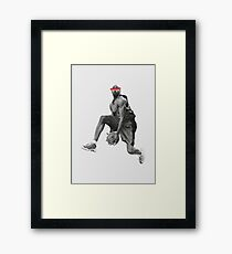 even with my eyes closed Framed Print