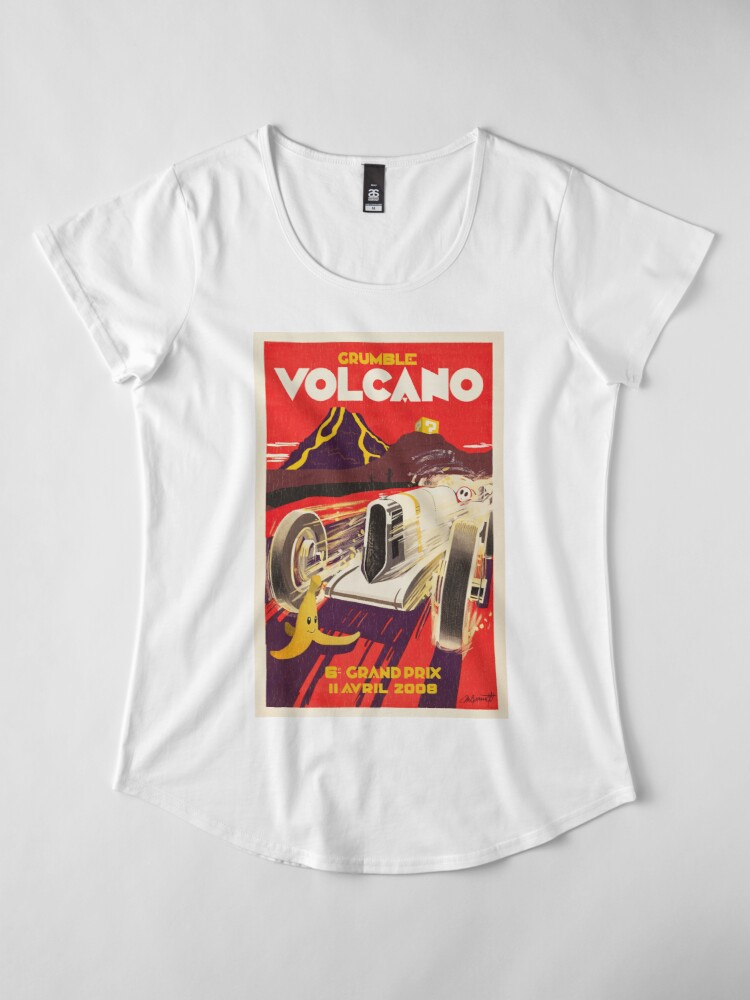 Alternative Ansicht von Grummel Volcano Grand Prix Frauen Premium T-Shirt