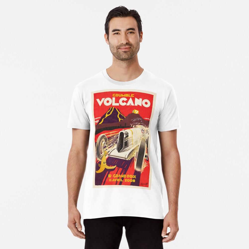 Grummel Volcano Grand Prix Premium T-Shirt