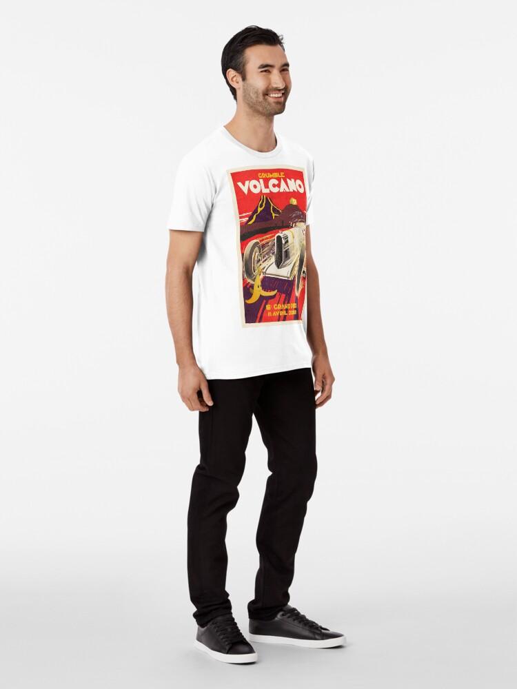 Alternative Ansicht von Grummel Volcano Grand Prix Premium T-Shirt